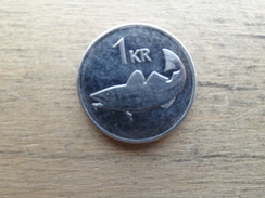 Islande  1  Krona  2003  Km 27 - Iceland