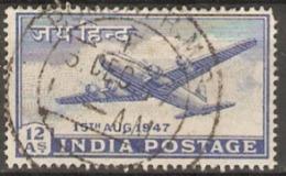 India  1947  SG 303  12a  Fine Used - India (...-1947)