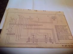 Plan  Tension De Fonctionnement 3 220 Volts - Machines