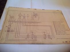 Plan  Tension De Fonctionnement 3 Fois 380 Volts - Machines