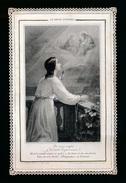 IMAGE PIEUSE - H.PRENTJE - DENTELLE =  +- 12 X 8 CM - LETAILLE 472  - 2 SCANS - Images Religieuses