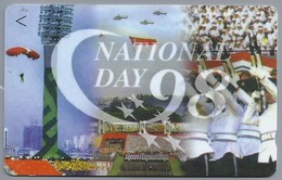 Telefoonkaart. Singapore Telecom - NationalDay 1998. National Day 1998 - - Telefoonkaarten