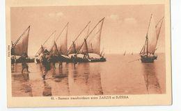 Tunisie - Bateaux Transbordeurs Entre Zarzis Et Djerba Ed Photo Soler Tunis - Túnez