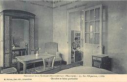 - Dpts Div.-ref-VV375- Nord - Lille - Pensionnat Clinique Departementale D Esquermes - 93 Rue D Esquermes - Pensions - - Lille