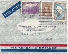 Airmail Brief  Air France  Buenos Aires - Zürich             1939 - Argentine