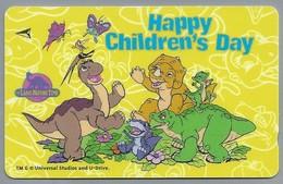 Telefoonkaart. Singapore Telecom - Happy Children's Day. - Stripverhalen