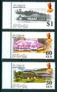 Brunei 2007 British Residens Architecture 3v MNH - Brunei (1984-...)