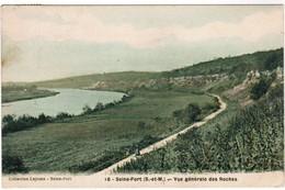 CPA Seine Port, Vue Générale Des Roches (pk41064) - Francia