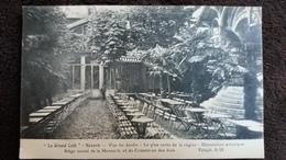 CPA NEVERS NIEVRE LE GRAND CAFE VUE DU JARDIN DECORATION ARTISTIQUE SIEGE SOCIAL DE LA MEUNERIE ET DU COMMERCE DE BOIS - Nevers