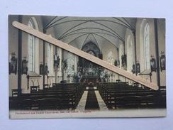 ANS ,LEZ LIÈGE PENSIONNAT DES DAMES URSULINES «Chapelle «Intérieur De La Chapelle Colorisée. - Ans