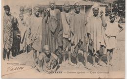 CONAKRY CONCOURS AGRICOLE  TYPES KOUROUSSAH - Guinée Equatoriale