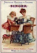 Machine A Coudre Singer France-Algérie-Tunisie - Postcard - Poster Reproduction - Software