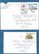 1995 BARBADOS TO ITALY - Barbados (1966-...)