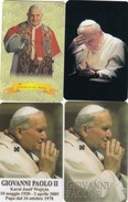 11139-N°. 7 CARDS SANTINI - PAPA GIOVANNI XXIII°-GIOVANNI PAOLO II-BENEDETTO XVI° - Religion & Esotérisme