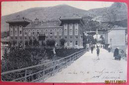 BOSNA I HERCEGOVINA - MOSTAR HOTEL NARENTA, K.U.K. BAHNPOST SARAJEVO-GRAVOSA 1905 - Bosnië En Herzegovina