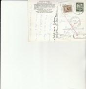Carte Postale De SOHREN Taxée à SARREGUEMINES - Retour Envoyeur - Postage Due Covers