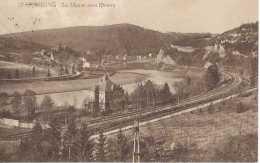 Godinne - La Meuse Vers Rivière - Circulé En 1925 - Chemin De Fer - BE - Yvoir - Yvoir