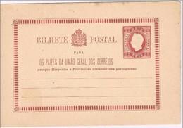 Portugal, 1878/9, # 2, Bilhete Postal - Nuovi
