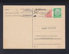 Dt. Reich Österreich PK 1938 Wien Nach Berlin Halbierung - Briefe U. Dokumente