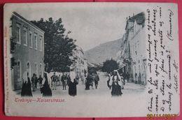 BOSNA I HERCEGOVINA - TREBINJE, KAISERSTRASSE, K.U.K. MILITARPOST - Bosnia And Herzegovina