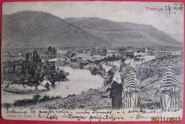 BOSNA I HERCEGOVINA - TREBINJE PANORAMA 1904 - Bosnia And Herzegovina
