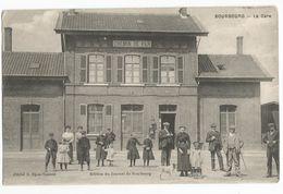 Bourbourg La Gare 1917 Carte Postale Ancienne Animée Chemin De Fer Gravelines Craywick Brouckerque - Gravelines