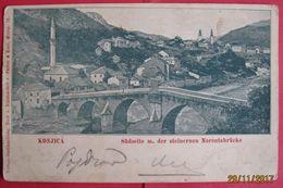 BOSNA I HERCEGOVINA - KONJIC, K.U.K. MILITARPOST KONJICA 1900 - Bosnia And Herzegovina
