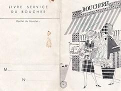 CALENDRIER  DE  BOUCHER - Calendars