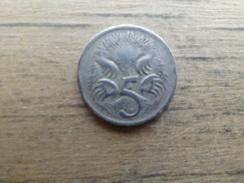 Australie  5  Cents   1967  Km  64 - Monnaie Décimale (1966-...)