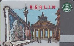 GERMANY Gift-card  Starbucks - Berlin - Brandenburger Tor - Gift Cards