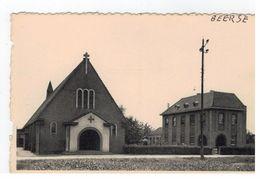 Beerse (Den Hout ) : Kerk V OLV Van Alt. Bijstand En Pastorij - Beerse