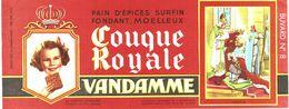 Vieux Papiers - Buvard - Pains D'épice Vandamme - 2 Buvards - Gingerbread