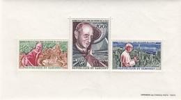 RÉPUBLIQUE DU DAHOMEY - BLOC-FEUILLETN°4 1966 APPEL PAUL VI A L'ONU FAVEUR PAIX - Yv N°43-45 MNH**/R36 - Stamps