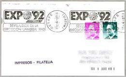 EXPO'92 - SEVILLA. Getafe, Madrid, 1987 - 1992 – Sevilla (España)
