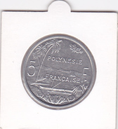 5 FRANCS POLYNESIE FRANCAISE - TAHITI 5 FRANCS De 1982 En SUP ! - French Polynesia