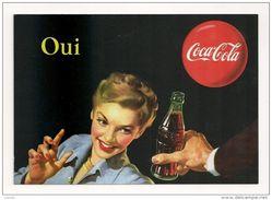 16077 - CARTE Pub COCA COLA - Célébrez Les 125 Ans De Légende (OUI) - Postcards