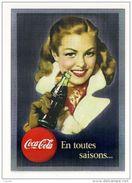 16078 - CARTE Pub COCA COLA - Célébrez Les 125 Ans De Légende (En Toutes Saisons) - Postcards