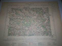 CARTE GEOGRAPHIQUE _ G - Format  45 X 57  DeLOIRET  SEINE Et MARNE  YONNE_Feuille  SENS_XVIII  16 ) En 1894 - Carte Geographique