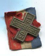 P67 ANCIEN INSIGNE CONCOURS DE GYMNASTIQUE 1903 AUDINCOURT FRANCHE COMTE - Badges & Ribbons
