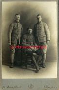 Grand CDV-(CAB) Soldats Du 24e Régiment-croix De Guerre-photo Saint Maritaine à Paris - Guerre, Militaire