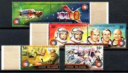 COOK. N°418-23 De 1975. Coopération Spatiale USA - URSS. - Space