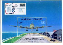 MARSHALL ISLANDS DOUGLAS C54 BLOC NEUF ** SANS CHARNIERE Ref 950 - Marshall Islands