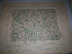 CARTE GEOGRAPHIQUE _ G - Format  45 X 57  De COTE  DOR _HAUTE  SAONE_HAUTE  MARNE_Feuille  CHAMPLITTE_XXIII 18 ) En 1895 - Geographische Kaarten