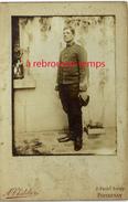 Grand CDV-(CAB) Soldat Du 30e Régiment-en Extérieur-photo A. Chatelier à Parthenay - Guerre, Militaire