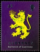 Alderney Aurigny 2008 Yvertn° 339 Micheln° 338 *** MNH Cote 20 Euro Armoiries Lion Leeuw - Alderney