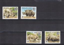 Swaziland Nº 525 Al 528 - Swaziland (1968-...)