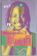 GB.- Telefoonkaart. BT Phonecard, That's More Time To .. Laugh. - Telecom