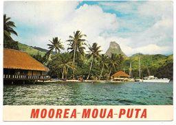MOOREA - MOUA PUTA - La Montagne Percée - Ed. AFOUI N° 102 - 1977 - Polynésie Française
