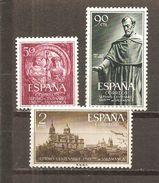 España/Spain-(MH/*) - Edifil  1126-28 - Yvert 835-37 - 1931-Hoy: 2ª República - ... Juan Carlos I