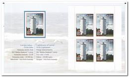 Letland 2016, Postfris MNH, Lighthouses, Booklet - Letland